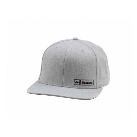 Simms Fishing Products Simms Trout Logo Lockup Cap Heather Grey