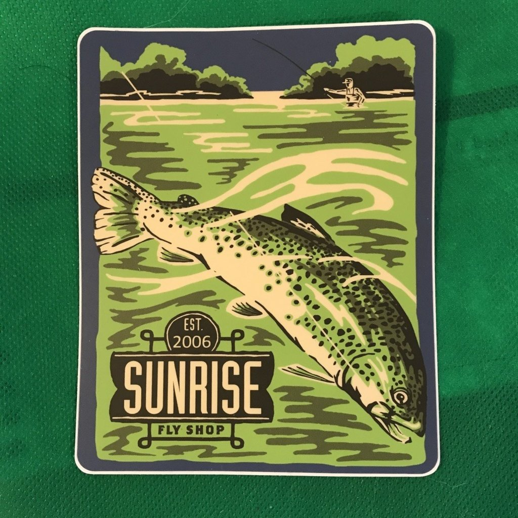 Sunrise Est 2006 Sticker