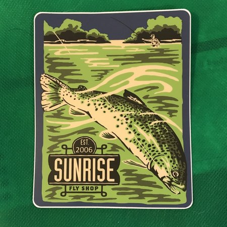 Sunrise Est 2006 Sticker