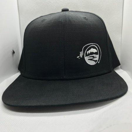 Simms Fishing Products Simms Flatbill Hat Black Sunrise Icon