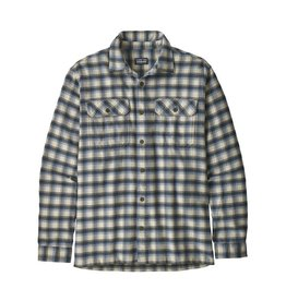 Patagonia Patagonia Long Sleeve Fjord Flannel Shirt Castroville Oyster White