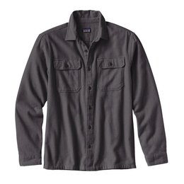Patagonia Patagonia Long Sleeve Fjord Flannel Shirt Forge Grey