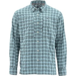 Simms Fishing Products Simms Bugstopper LS Shirt | Storm Plaid