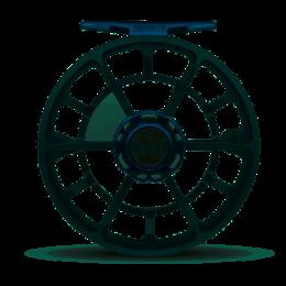 Ross Reels Ross Reels Evolution LTX Fly Reel   Limited Edition    Gunmetal/Blue   7/8
