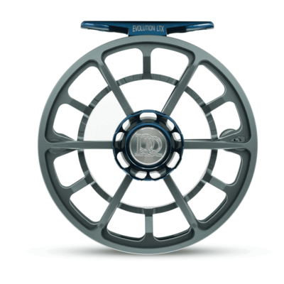 Ross Reels Ross Reels Evolution LTX Fly Reel | Limited Edition |  Gunmetal/Blue | 7/8