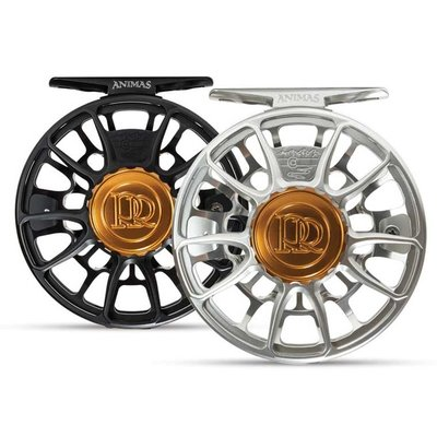 Ross Reels Ross Reels Animas Fly Reel | Matte Black, Platinum | 4/5,  5/6, 7/8