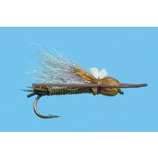 Solitude Fly Company Bullet Head Skwalla | Dry Fly |  Olive | #8