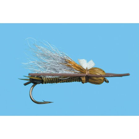 Solitude Fly Company Bullet Head Skwalla | Dry Fly |  Olive | #8