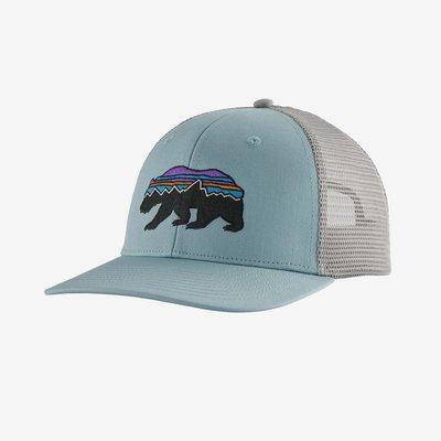 Patagonia Patagonia Fitz Roy Bear Trucker Hat | Big Sky Blue