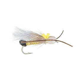 Bullet Head Skwalla | Dry Fly | Grey | #12