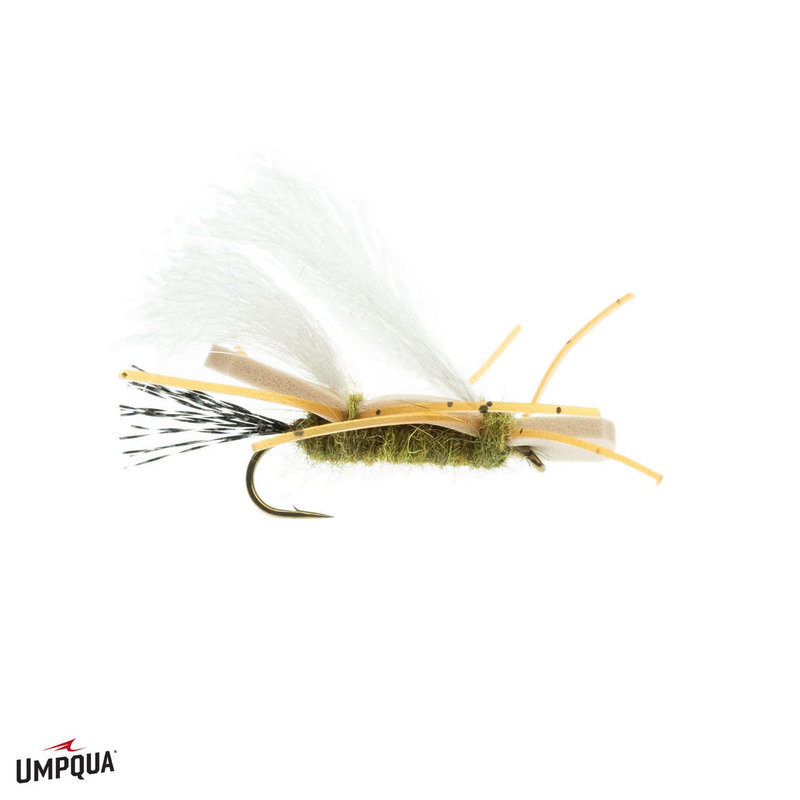 Umpqua Feather Merchants Chubby Chernobyl | Dry Fly | Olive | #10, #12, #14, #16