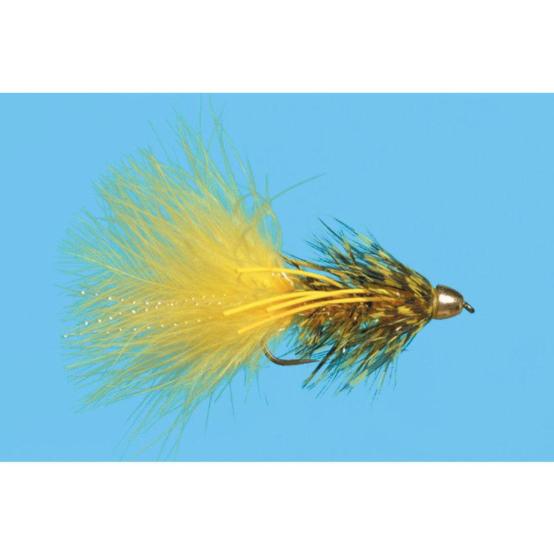 Solitude Fly Company Beldar Rubber Leg | Streamer | Yellow/Black | #6