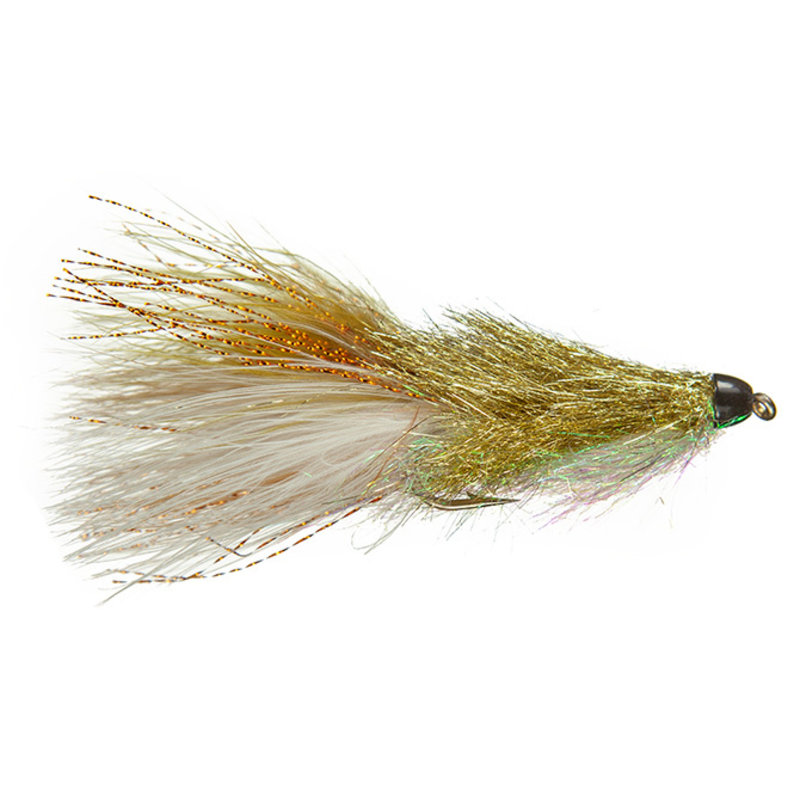 Coffey's CH Sparkle Minnow | Streamer |  Sculpin | #4, #6