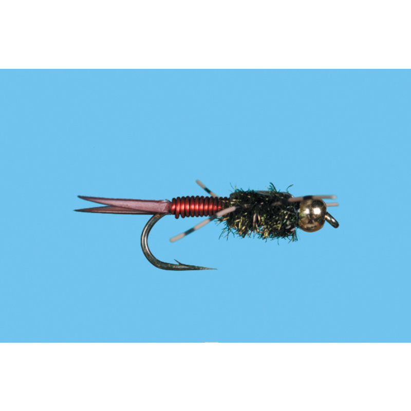 Solitude Fly Company Copper John | Nymph | Red | #12. #14, #16