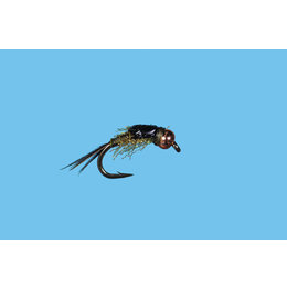 Solitude Fly Company Psycho May   Nymph   Olive   #16, #18