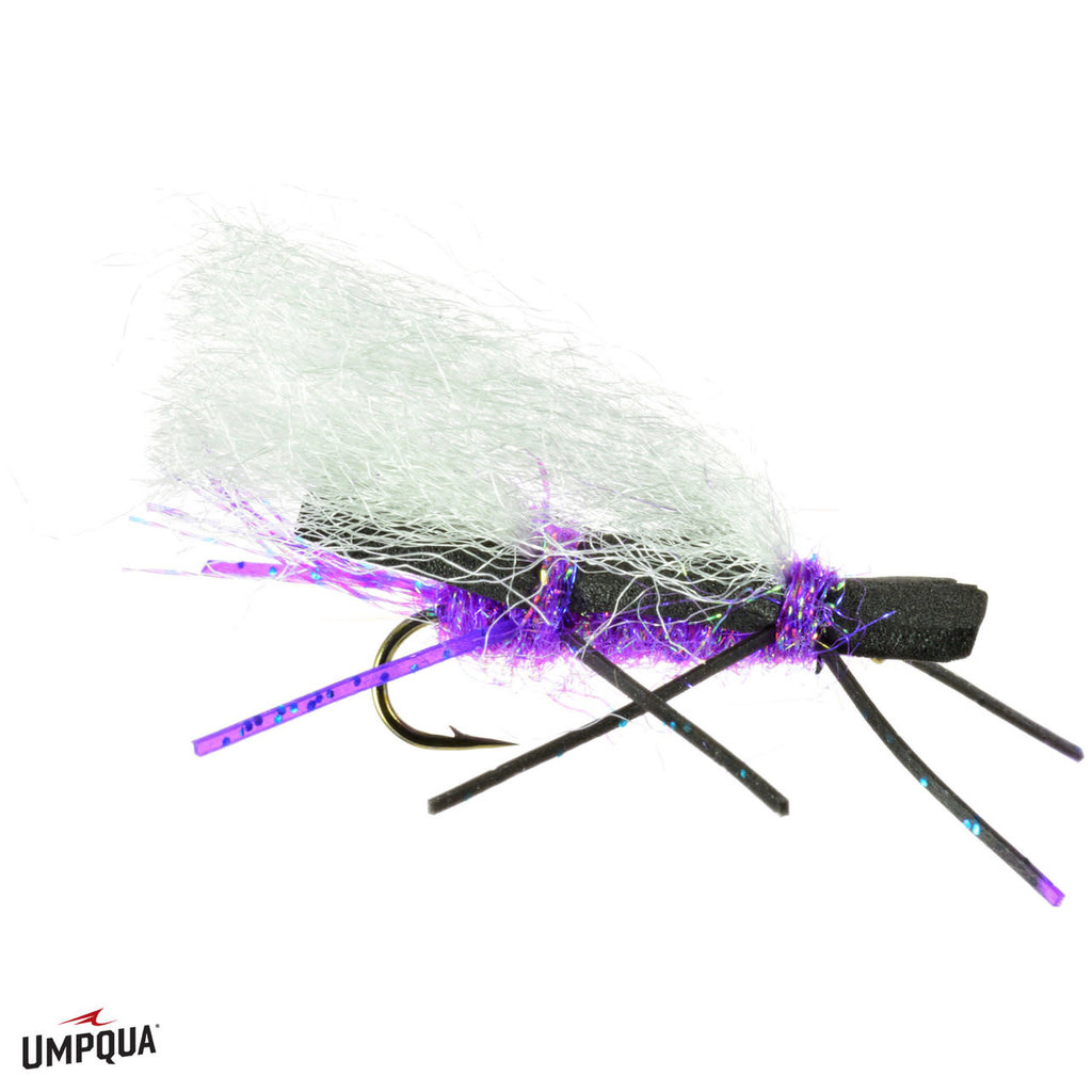 Umpqua Feather Merchants Chubby Chernobyl Purple