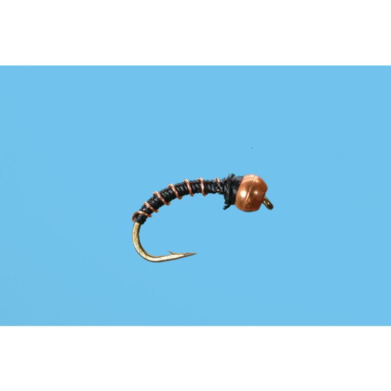 Solitude Fly Company Zebra Midge | Nymph | Copper | #20