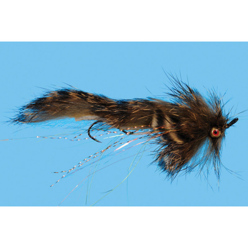 Solitude Fly Company Mini Loop Sculpin | Streamer | Natural, Olive| #6