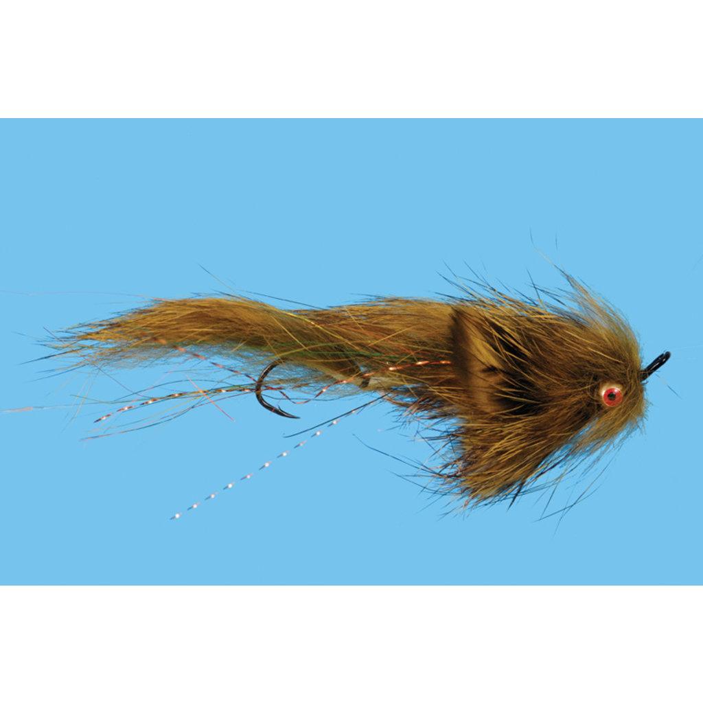 Solitude Fly Company Mini Loop Sculpin | Streamer | Natural, Olive| #6