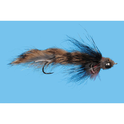 Solitude Fly Company Trevor's Sculpin | Streamer | Natural, Olive | #6