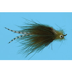 Solitude Fly Company Weir's Sculpin   Streamer   Olive   #4