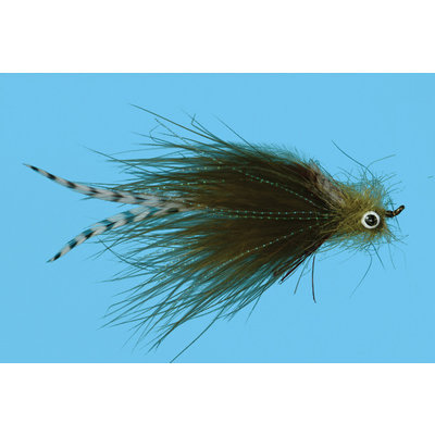Solitude Fly Company Weir's Sculpin | Streamer | Olive | #4