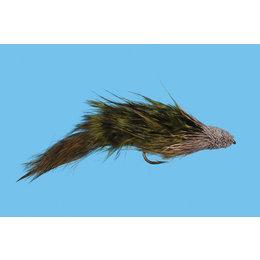 Solitude Fly Company McCune's Sculpin   Streamer   Olive, Tan   #6