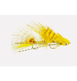 Galloup's Mini Dungeon | Articulated Streamer | Yellow, Black, Natural | #6