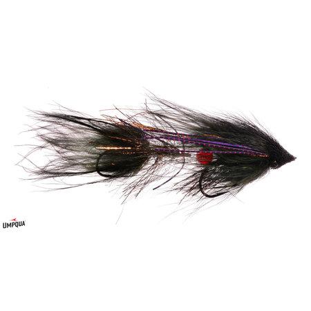 Umpqua Feather Merchants Wedge Head | Articulated Streamer | Black