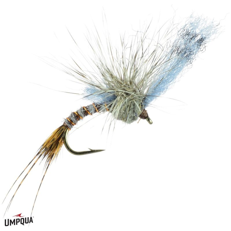 Umpqua Feather Merchants Film Critic | Dry Fly | Grey Drake | #12