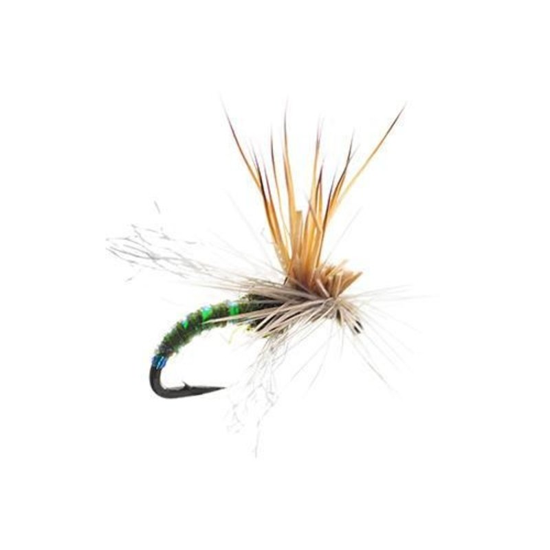Umpqua Feather Merchants Mercer's Missing Link | Dry Fly | Olive | #16, #18