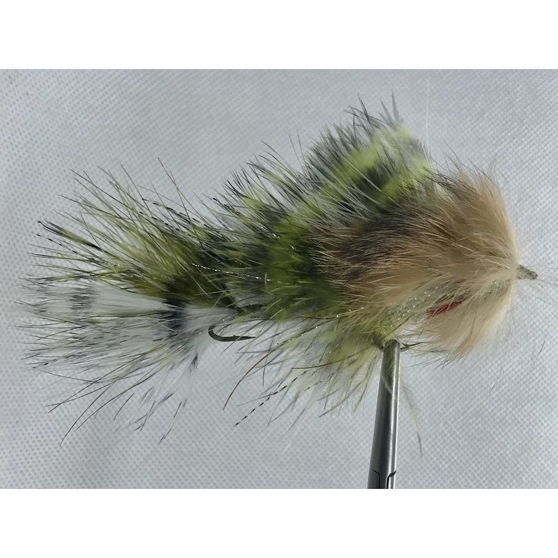 Sundell's Bad Boy | Articulated Streamer | Black/Olive | #6