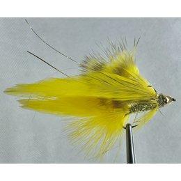 Beartooth Flies Delekta Screamer   Streamer   Yellow   #6