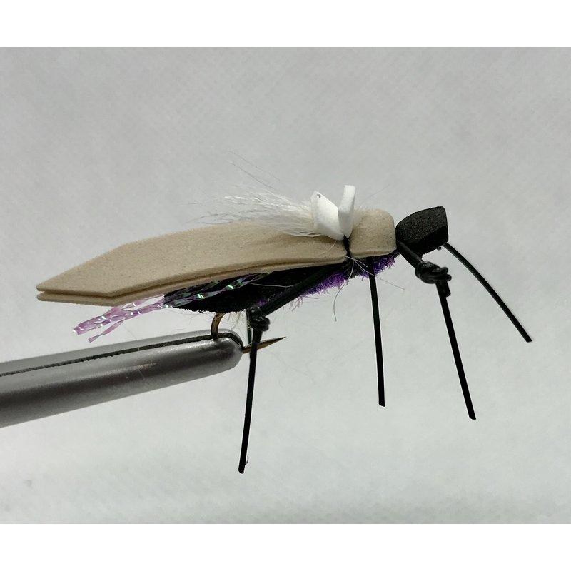 Yellowstone Fly Goods Dornan's Water Walker | Dry Fly | Purple | #6, #8, #10, #12