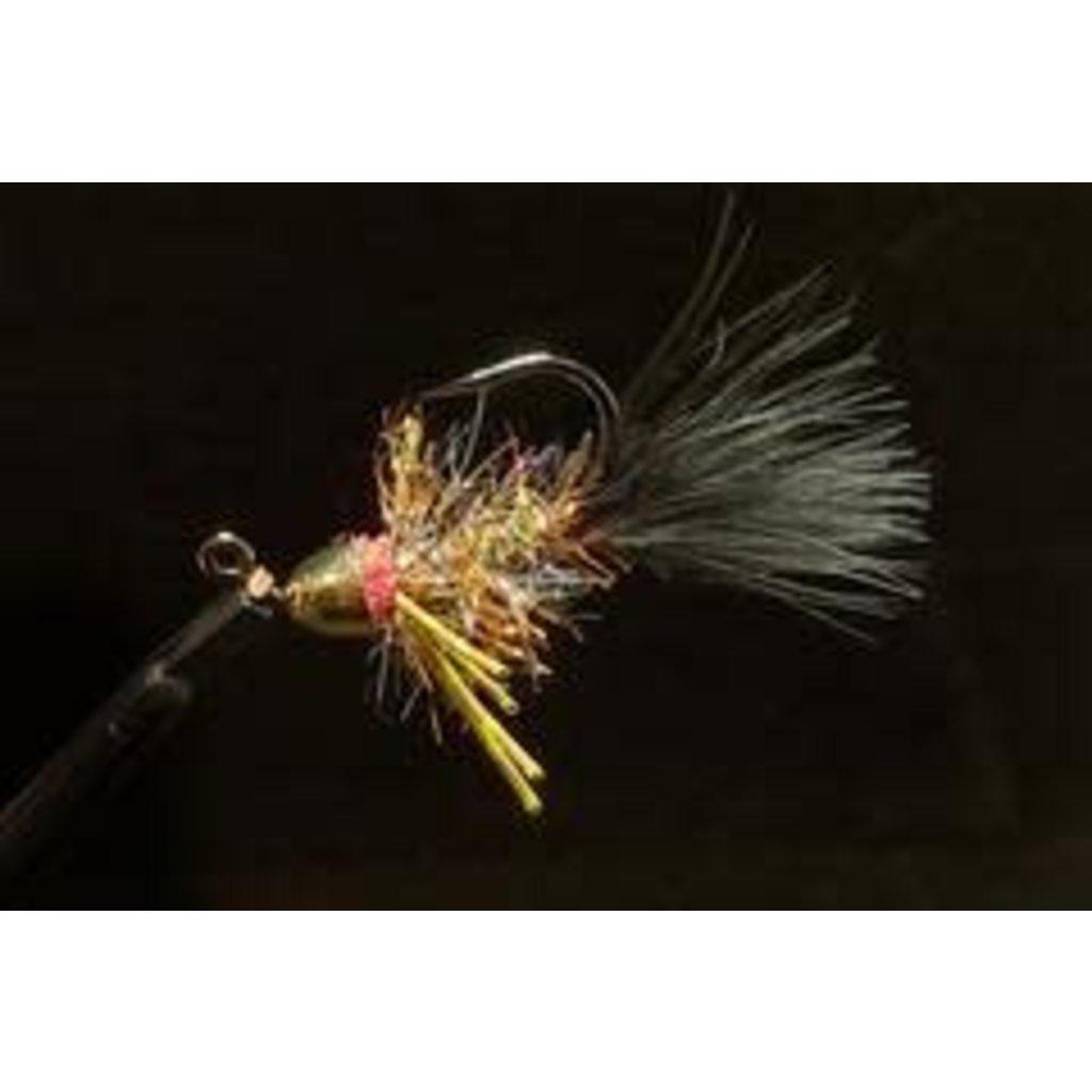 Dirty Water Fly Company Lil Smokey Conehead Bugger | Streamer| #4