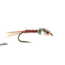 Umpqua Feather Merchants Little Green Machine PT #16