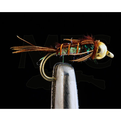 Kyle's BH Superflash Pheasant Tail | Nymph | White | #12, #,14, #16, #18