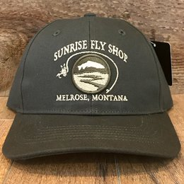 Richardson Sunrise Logo Hat | Canvas Duck Cloth | Dark Olive