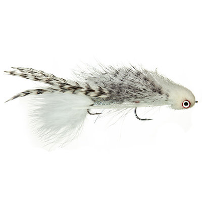 Galloup's Silk Kitty | Articulated Streamer | White | #2
