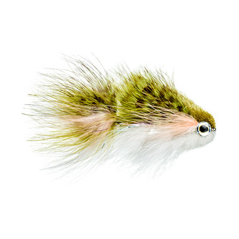 Galloup's TA Bunker | Streamer | Olive/White | #1