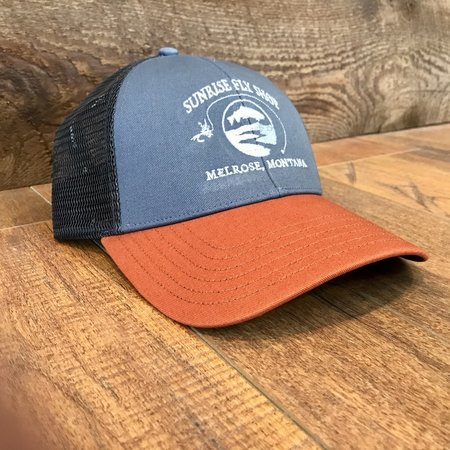 Simms Fishing Products Simms Trucker Hat Storm Sunrise Icon