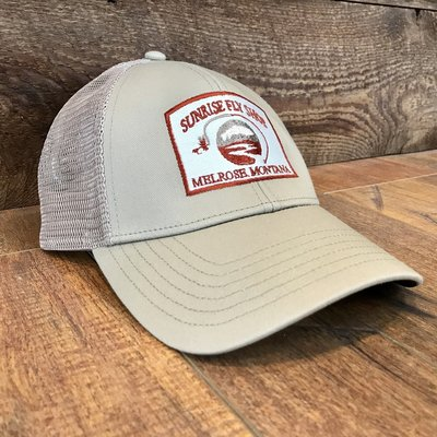 Simms Fishing Products Simms Trucker Hat Cork Sunrise Icon