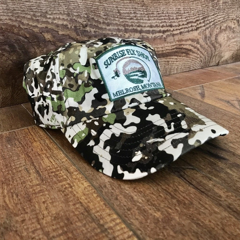 Simms Fishing Products Simms Single Haul Hat River Camo Sunrise Icon