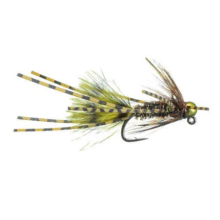 Jig MFGA Prince | Nymph | Olive, Peacock | #6