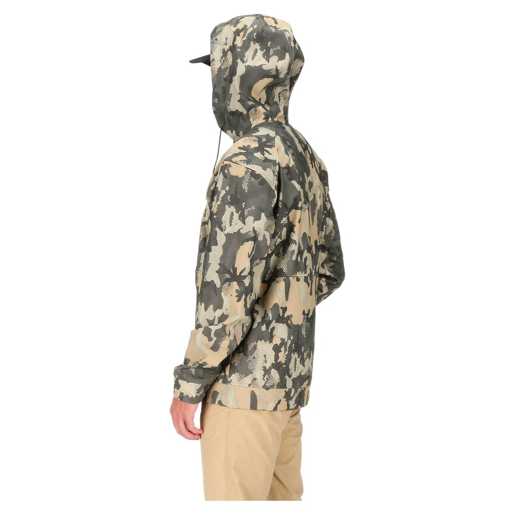 Simms Fishing Products M's Rogue Hoody | Jacket | Hex Flo Camo Timber|