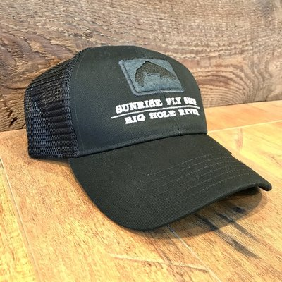 Simms Fishing Products Simms Trout Icon Trucker Hat Black