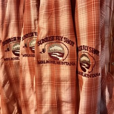 Simms Fishing Products M's Big Sky Shirt | With Sunrise Fly Shop Logo