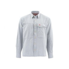 Simms Fishing Products Simms Guide LS Shirt | With Sunrise Fly Shop Logo