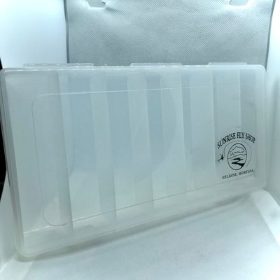 Sunrise Salt Water Streamer Fly Box | 7 Compartment