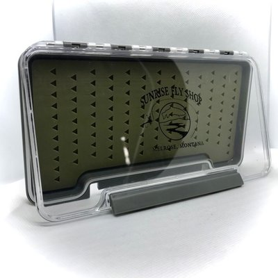 Sunrise Waterproof Fly Box | Silicon | Large